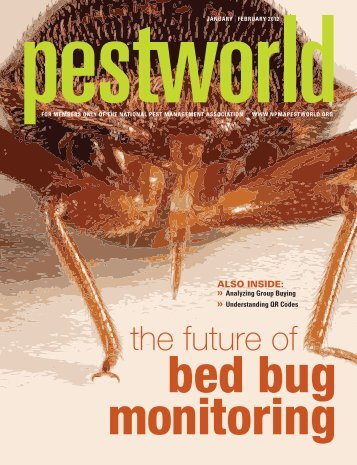 The future of bed bug monitoring - National Pest Management ...