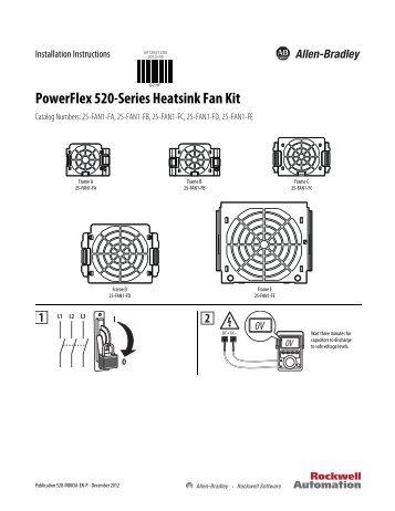 520-IN007A-EN-P PowerFlex 520-Series EMC Plate