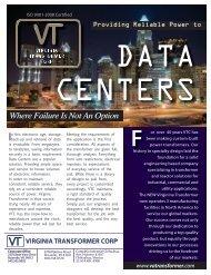Data Centers.pdf - Virginia Transformer Corp