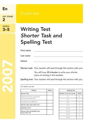 short writing tasks ks2