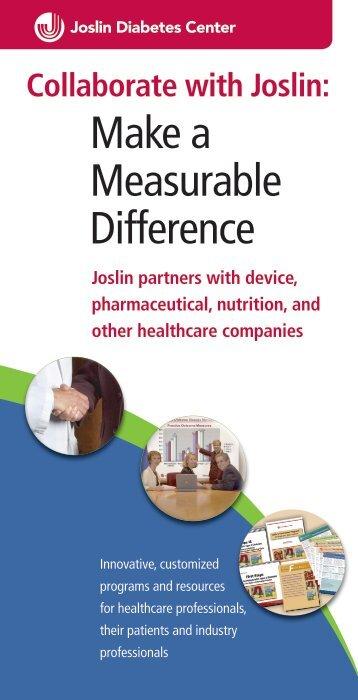 brochure - Joslin Diabetes Center