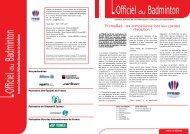 LOB 27 - Ligue Paca de badminton