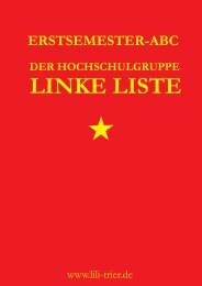 Erstsemester ABC (Download) - Linke Liste Trier