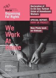 SPECIAL REPORT - Homeworkers Worldwide