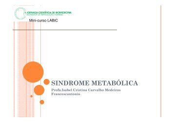 (Microsoft PowerPoint - Sindrome Metab\363lica.ppt) - Ucg