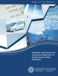 Economic Instruments for Long-term Reductions in Energy ... - NEIA