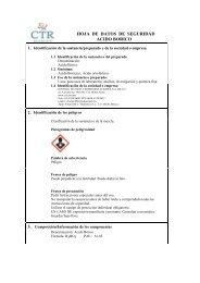 Acido Bórico MSDS - CTR Scientific