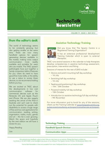 Vol 19, No 3 – Handheld Speech Generating Devices