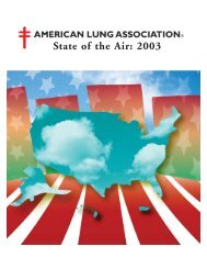 State of the Air 2003 - San Diego Health Reports and Documents