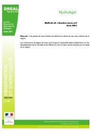 Août 2011 - DREAL des Pays de la Loire