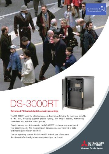 DS-3000RT - SLD Security & Communications