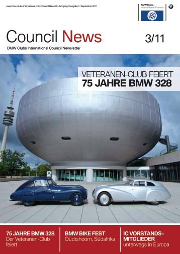Council News - BMW Clubs