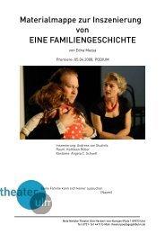 Materialmappe zur Inszenierung von EINE ... - Theater Ulm