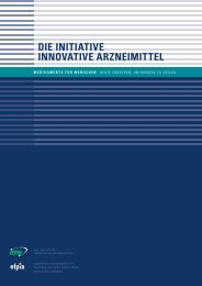 DIE INITIATIVE INNOVATIVE ARZNEIMITTEL - Medicines for Mankind