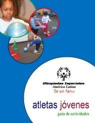 Atlétas Jóvenes Guía de Actividades - Special Olympics