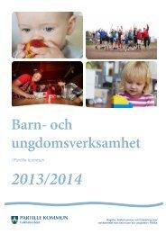 Barn- och ungdomsverksamhet - Partille kommun