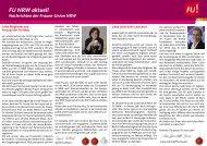 Newsletter 2013 - Frauen-Union der CDU-NRW
