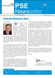PSE Bi-monthly Newsletter - March, 2013, Vol 4, No 2 - CII