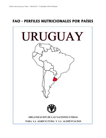 Perfil Nutricional de Uruguay - FAO.org