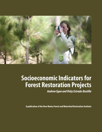 Socioeconomic Indicators for Forest Restoration Projects - All About ...