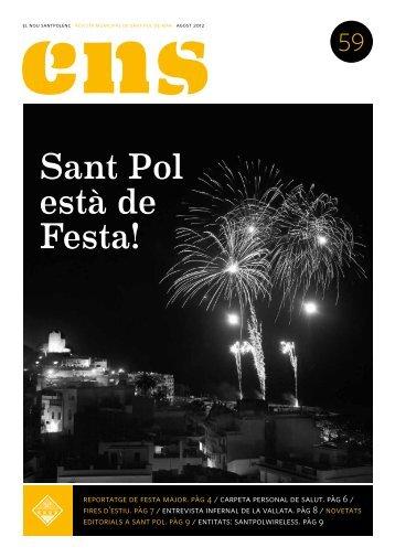 ENS 59 - Sant Pol està de Festa! - AGO 12 PDF [991 KB]
