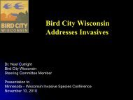 Bird City Wisconsin Addresses Invasives - Midwest Invasive Plant ...