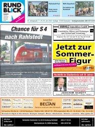 Chance für S 4 nach Rahlstedt