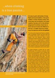 …where climbing is a true passion…