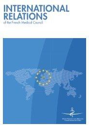 international relations - Conseil National de l'Ordre des Médecins