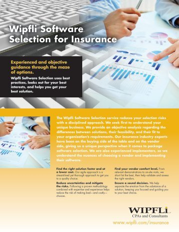 Download a PDF of our Wipfli Software Selection for Insurance ...