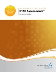 STAR Assessments - Renaissance Learning
