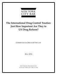 Just How Important Are They to US Drug Reform? - New York City ...