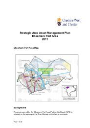 Ellesmere Port Area Asset Management Plan 2011 - West Cheshire ...