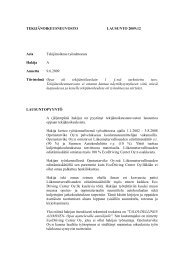 Tekijänoikeusneuvoston lausuntoja 2009:12