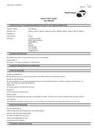 SAFETY DATA SHEET LM2 GREASE - Travis Perkins