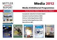 From Decision Makers for Decision Makers - Mittler Report Verlag