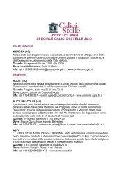 terre del vino speciale calici di stelle 2010 - Vasfvgaltolivenza.it