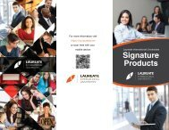 Signature Products - My Laureate