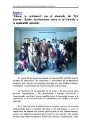 """""""EDUCAR LA RESILIENCIA"""" con el alumnado del IES ... - Navarra"""