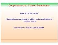 Coopération avec l'Union Européenne - emwis