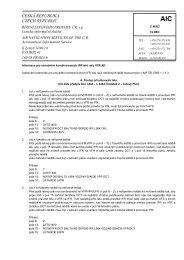 C 86/02 - Letecká informační služba - Řízení letového provozu