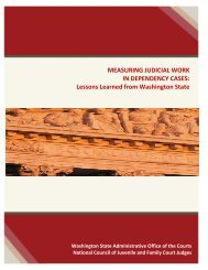 Judicial Workload Assessment - National Council of Juvenile and ...
