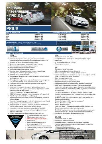 Новият Prius - Toyota