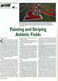 Painting and Striping Athletic Fields