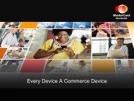MasterCard Worldwide Presentation