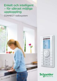 Radiosystemet Connect - Schneider Electric