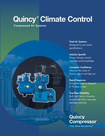 Quincy® Climate Control - CH Reed Inc.