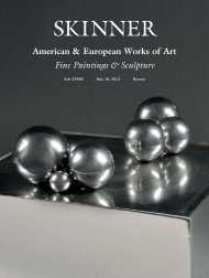 American & European Works of Art Fine Paintings ... - Skinner