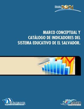 Catalgo indicadores - Ministerio de Educación de El Salvador