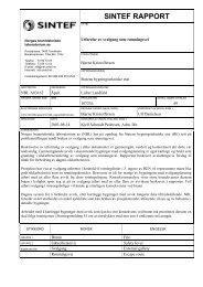 Utførelse av svalgang som rømningsvei - SINTEF NBL as